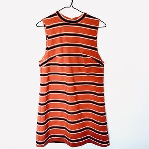 UO Vintage Cooperative Dress with Retro Neck